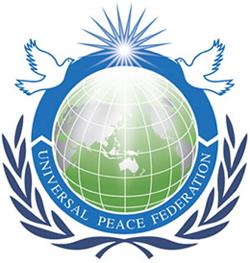 Az Egyetemes Béke Szövetsége emblémája